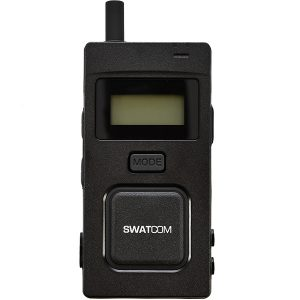 SWATCOM Multicom 2.4 GHz Transceiver with charger, carry case & headset