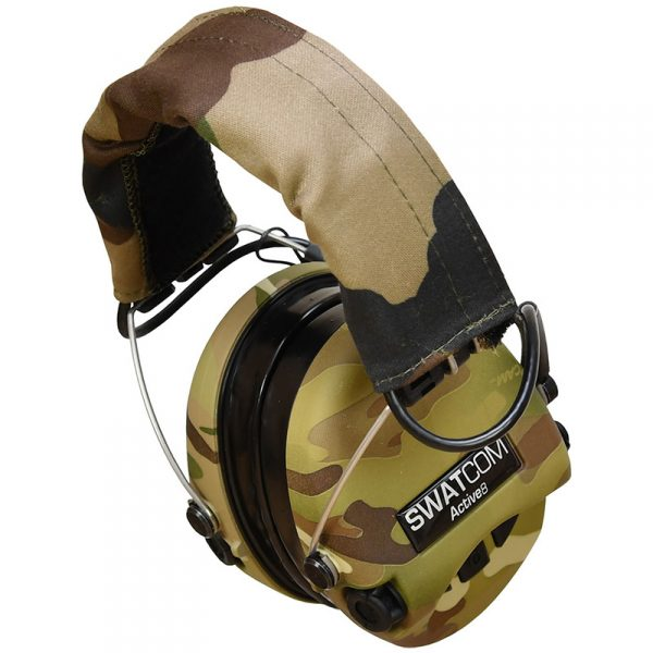 SWATCOM Active8 Waterproof Headset CAMO