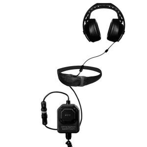 SWATCOM SC1 PTT, SC5 Throat Mic & Earpiece