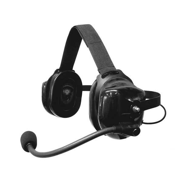 SWATCOM 7 Heavy Duty Noise Cancelling Headset fixed downlead