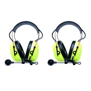 SWATCOM 2talk De-icing headsets in HiVis Yellow