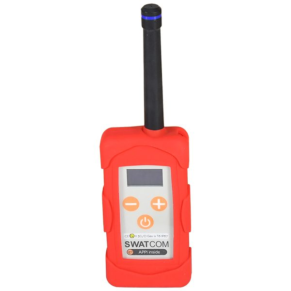 SWATCOM DX Ex ATEX Full-Duplex Communication Transceiver with internal / External antenna