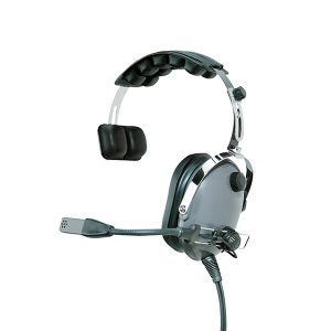Single-Sided Heavy Duty Headset with Ear Cup PTT (Select Radio Models)
